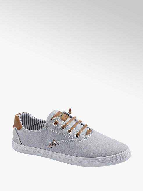 Bench Leinen Slip On Sneaker in Blau