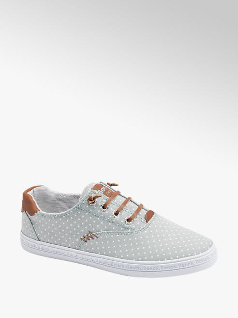 Bench Leinen Slip On Sneaker in Grün
