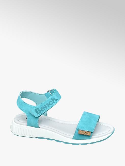 Bench Sandalen in Türkis-Weiß