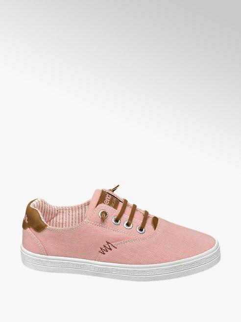 Bench Slip On Leinen Sneaker in Rosa