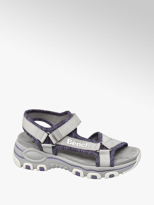 Bench Grey Velcro Sporty Sandals