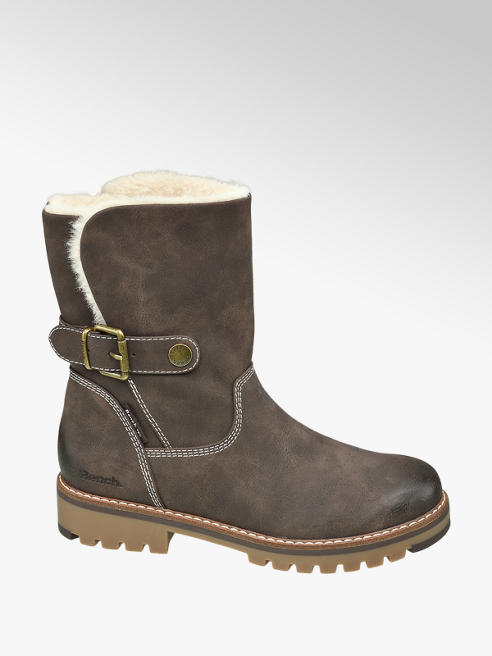 Bench Brown Warm Lined Boots