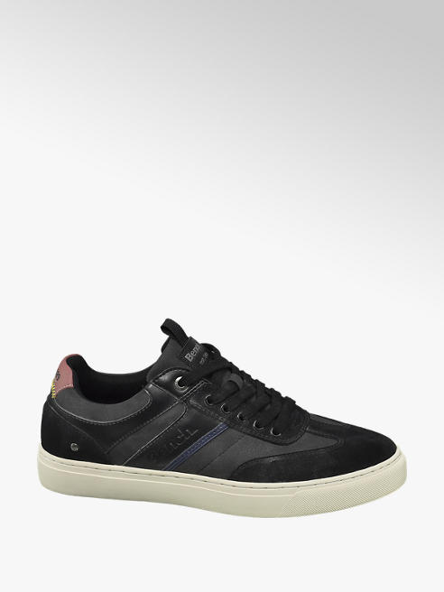 Bench Zwarte sneaker vetersluiting