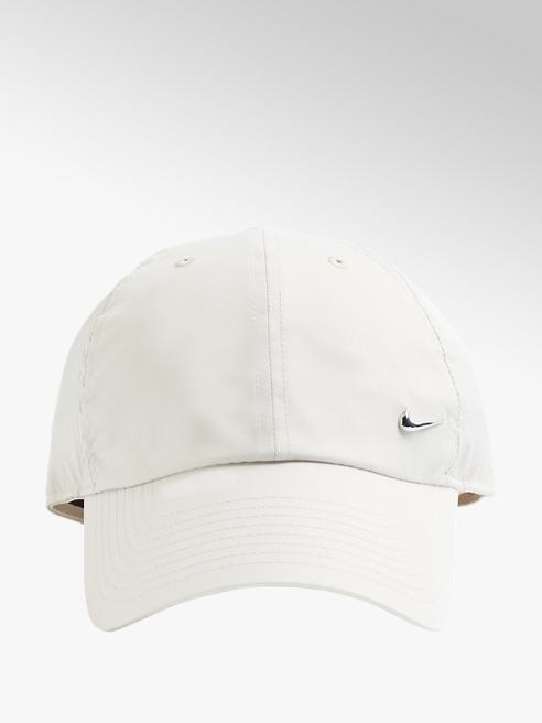 NIKE Biela šiltovka Nike Metal Swoosh Cap