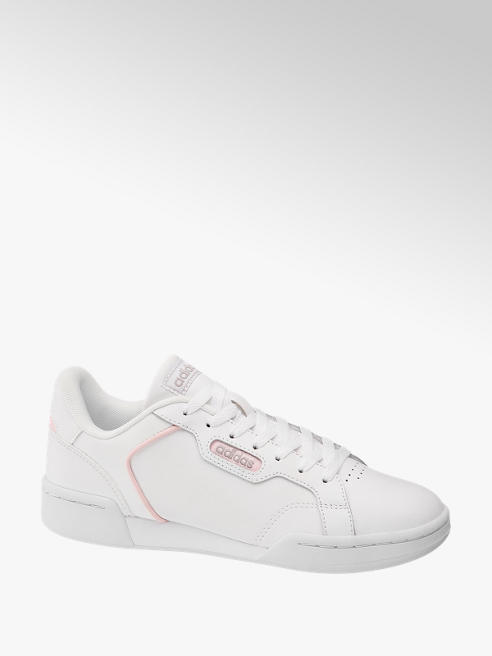 adidas Biele kožené tenisky Adidas Roguera