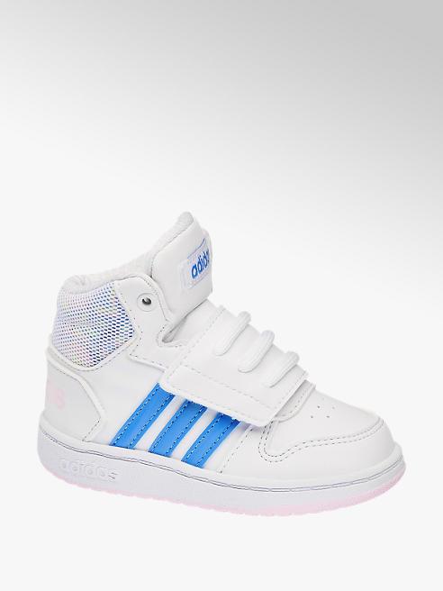 adidas Biele členkové tenisky Adidas Hoops Mid 2.0 Inf