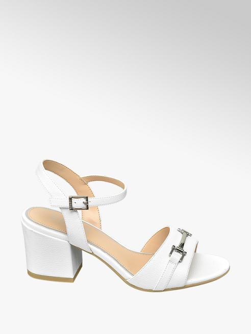 Esprit Biele sandále na podpätku Esprit