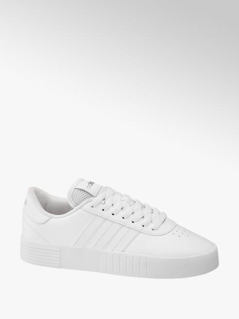 adidas Biele tenisky Adidas Court Bold na platforme