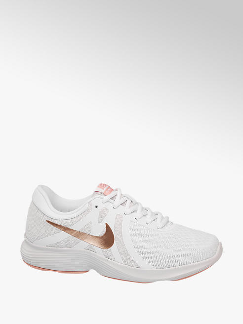 NIKE Biele tenisky Nike Revolution 4