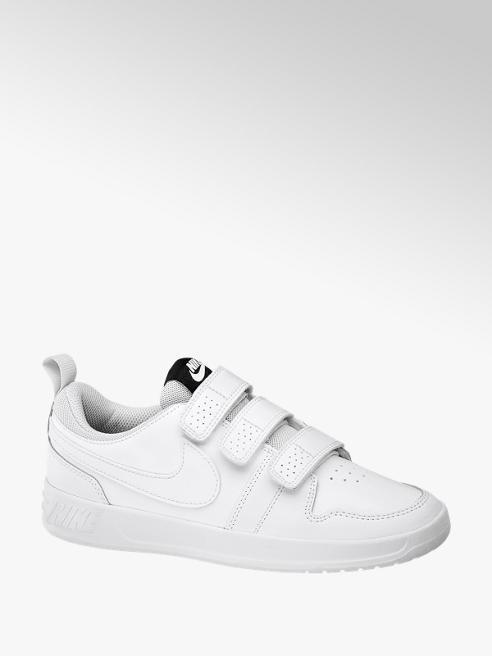 NIKE Biele tenisky na suchý zips Nike Pico 5