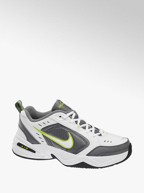 NIKE Bielo-sivé tenisky Nike Air Monarch