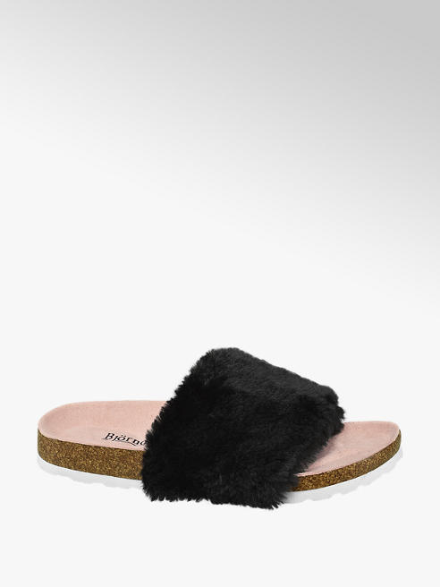 Björndal Ladies Faux Fur Footbeds
