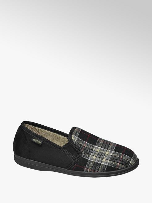 Björndal Mens Checked Full Slippers