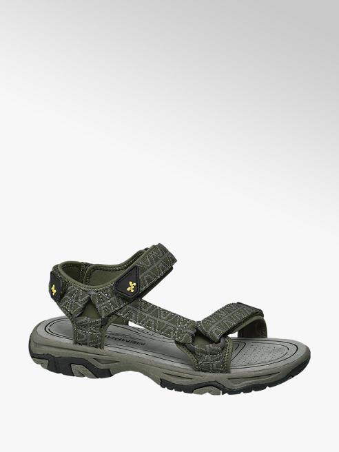 Björndal Groene sandaal klittenband