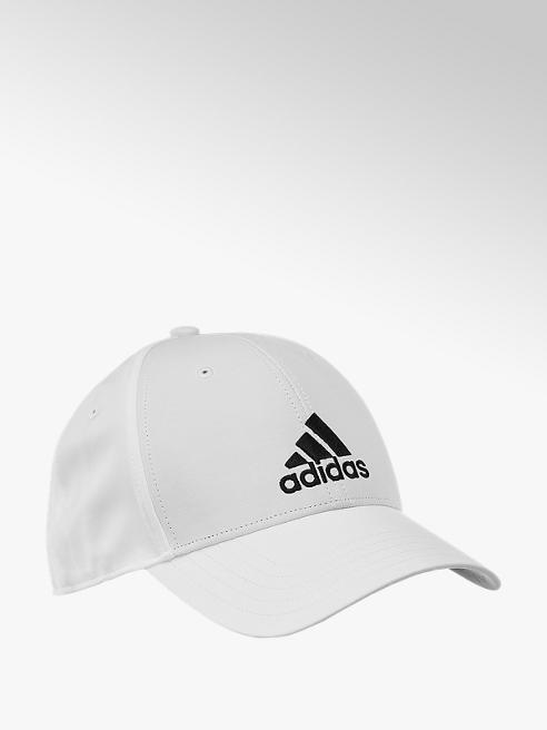 adidas Bílá kšiltovka Adidas BBall Cap Lt Emb