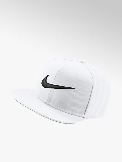NIKE Bílá kšiltovka Nike Swoosh Pro