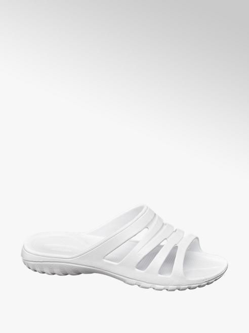 Blue Fin Bílé pantofle Blue Fin