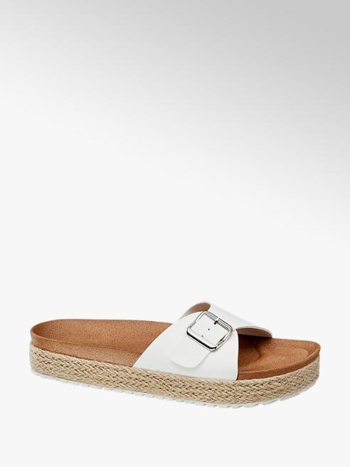 Graceland Bílé pantofle Graceland