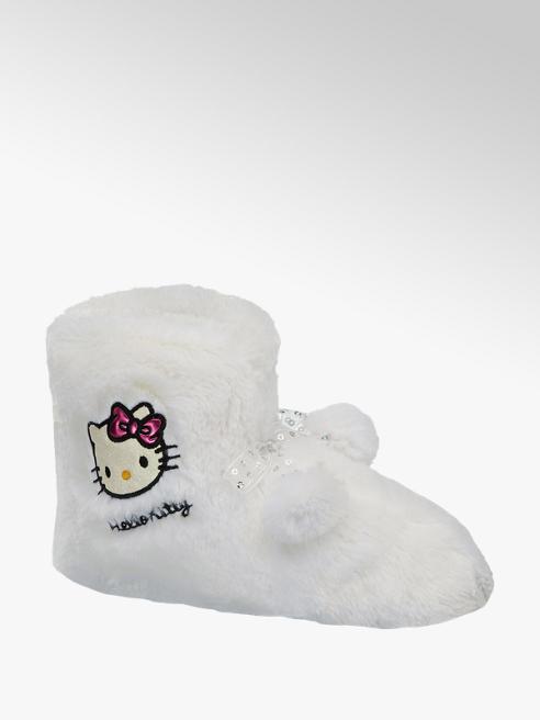 HELLO KITTY Bílé papuče Hello Kitty