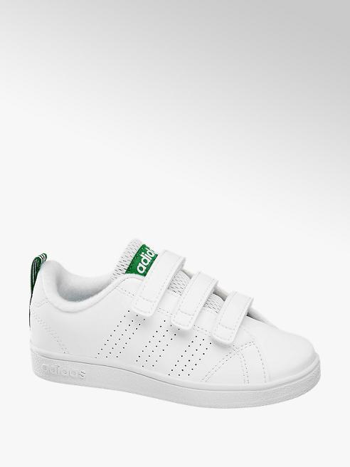 adidas Bílé tenisky na suchý zip Adidas Vs Adv Cl Cmf C