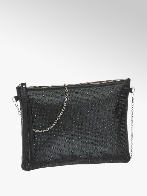 Catwalk Gem Detail Clutch Bag