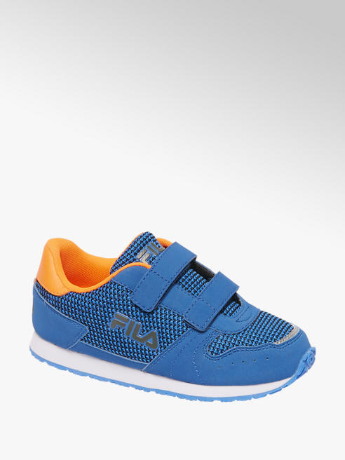 Fila Blauwe sneaker klittenband
