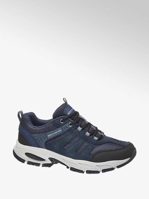 Skechers Blauwe sneaker vetersluiting