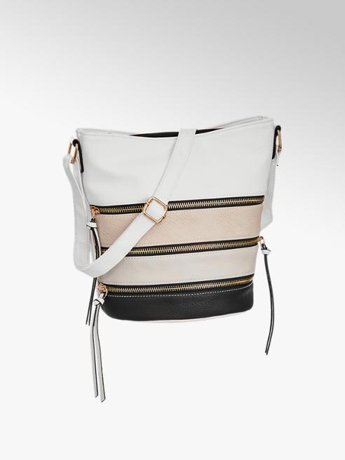 Graceland Bílo-béžová kabelka Graceland