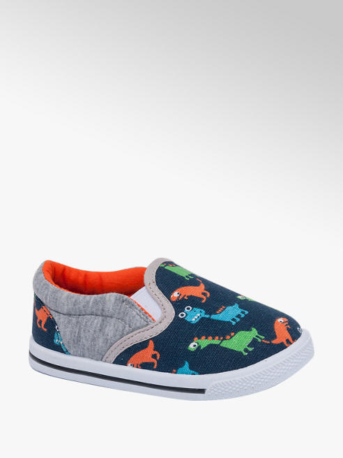 Bobbi-Shoes Dinosaur Print Canvas