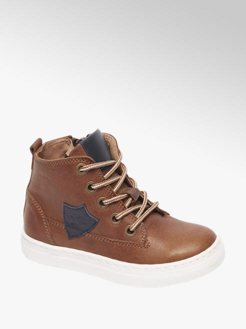 Bobbi-Shoes Bruine leren boot