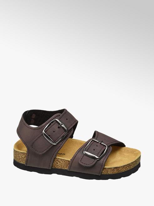 Bobbi-Shoes Bruine sandaal gespsluiting