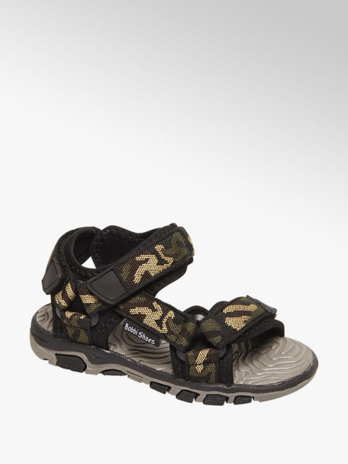 Bobbi-Shoes Camouflage sandaal klittenbandsluiting