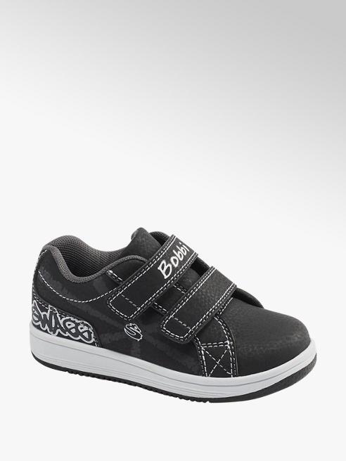 Bobbi-Shoes Klettschuhe für Jungen in Grau