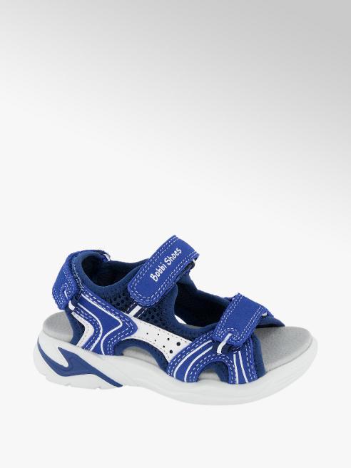 Bobbi-Shoes Leder Sandalen in Blau