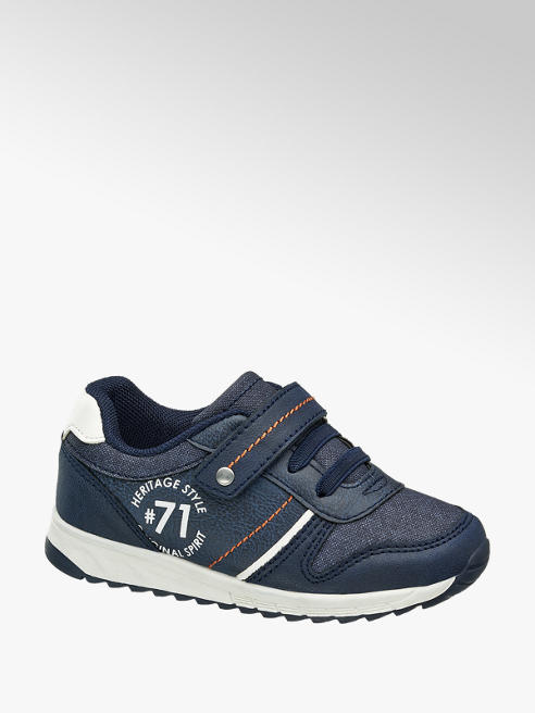 Bobbi-Shoes Toddler Boy Navy Casual Trainers
