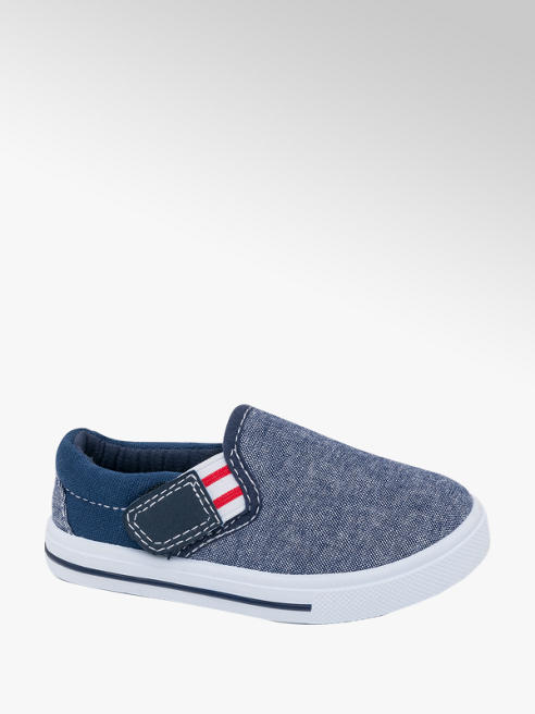 Bobbi-Shoes Toddler Boy Slip On Canvas