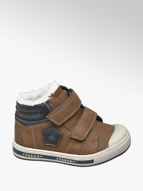 Bobbi-Shoes Toddler Boys Brown Twin Strap Boots