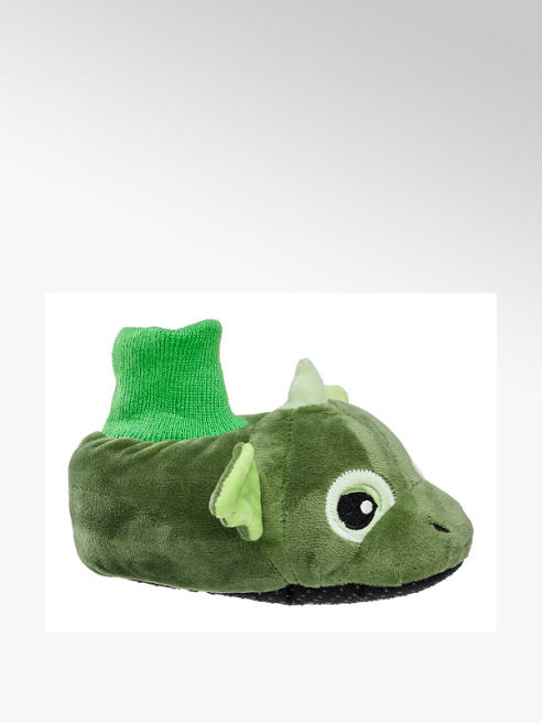 Bobbi-Shoes Toddlers Novelty Dragon Slippers