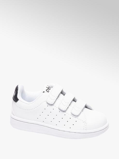 Bobbi-Shoes Witte sneaker perforatie