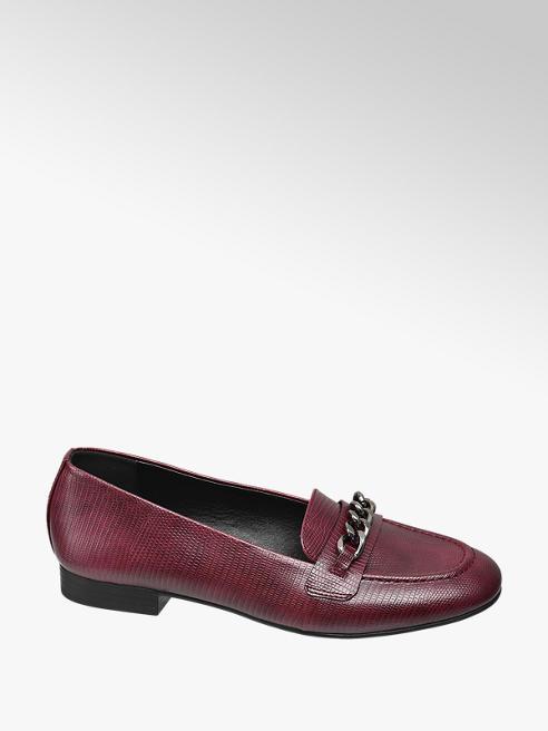 Graceland Bordó loafer