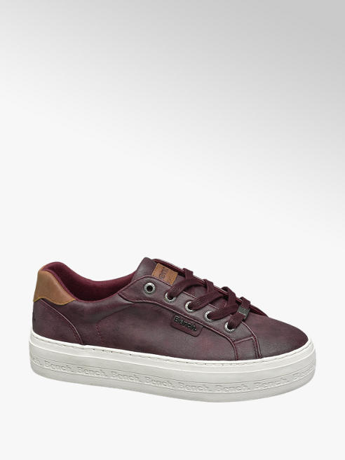 Bench Bordó platform sneaker