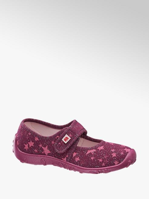 Elefanten Bordó tépőzáras cipő