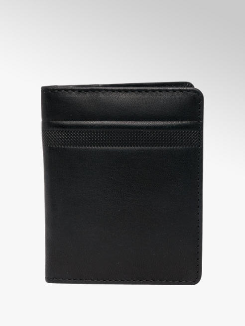 Borelli Black Leather Card Holder