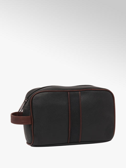 Borelli London Collection Mens Leather Wash Bag