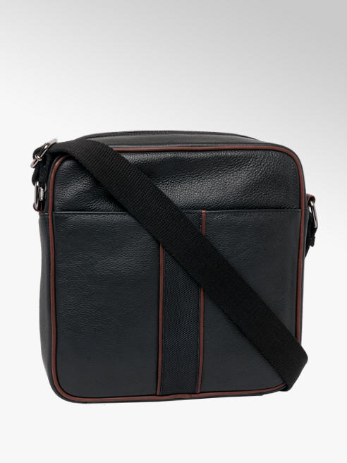 Borelli London Collection Mens Leather Cross Body Bag