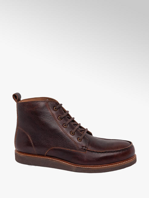 Borelli London Collection Mens Casual Lace-up Boots