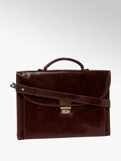 Borelli Leather Satchel