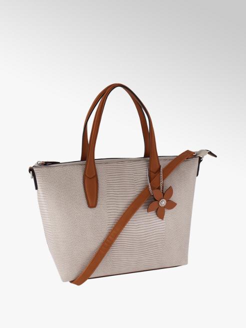 Graceland Béžová kabelka so zvieracím vzorom Graceland
