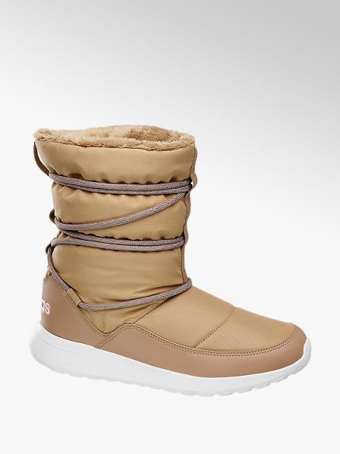 adidas Béžové sněhule Adidas Cf Racer Wtr Boot W