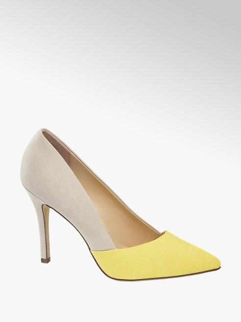 Graceland Béžovo-žlté lodičky Graceland